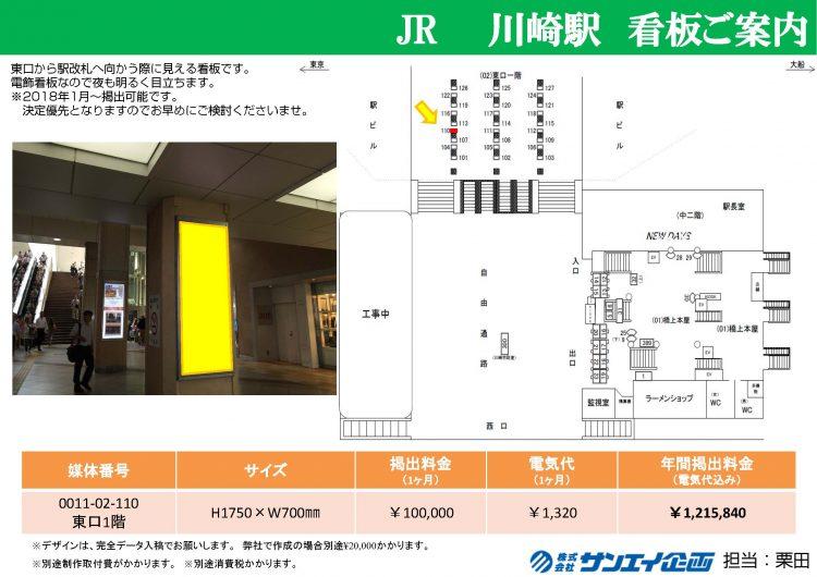 川崎駅_看板資料
